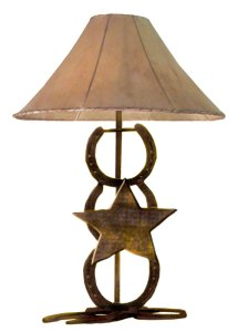 Table Lamp - Iron Horse Shoes - LT609