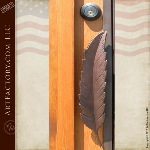 Door Pull- Feather Quill - HH030