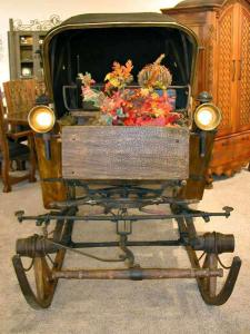 Calash - Buggy 1840 Hand Crafted For Royalty  Germany -  CCR890