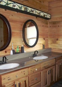 Bathroom Lodge Style - Customer Provided Photo -  CH1010