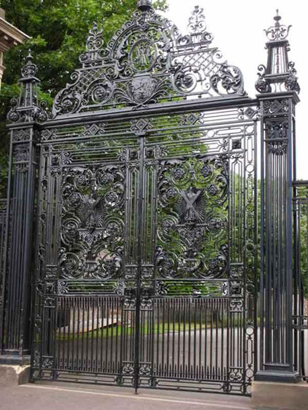Custom Wrought Iron Entry Gate Holyrood Palace - 1223IGT