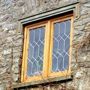English Tudor Lead Set Window - Customer Provided Photo- WIN1226