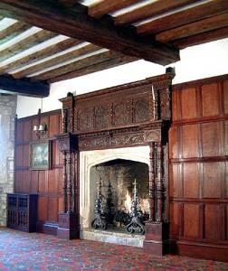 Antique Mansion Fire Place Mantel  - FPM701