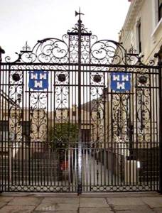Wrought Iron Entrance Gate The Mansion House Ireland - 1230WIT