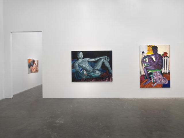 "Jordan Casteel, ""Within Reach"", New Museum installation view, 2020. Photo: Dario Lasagni"