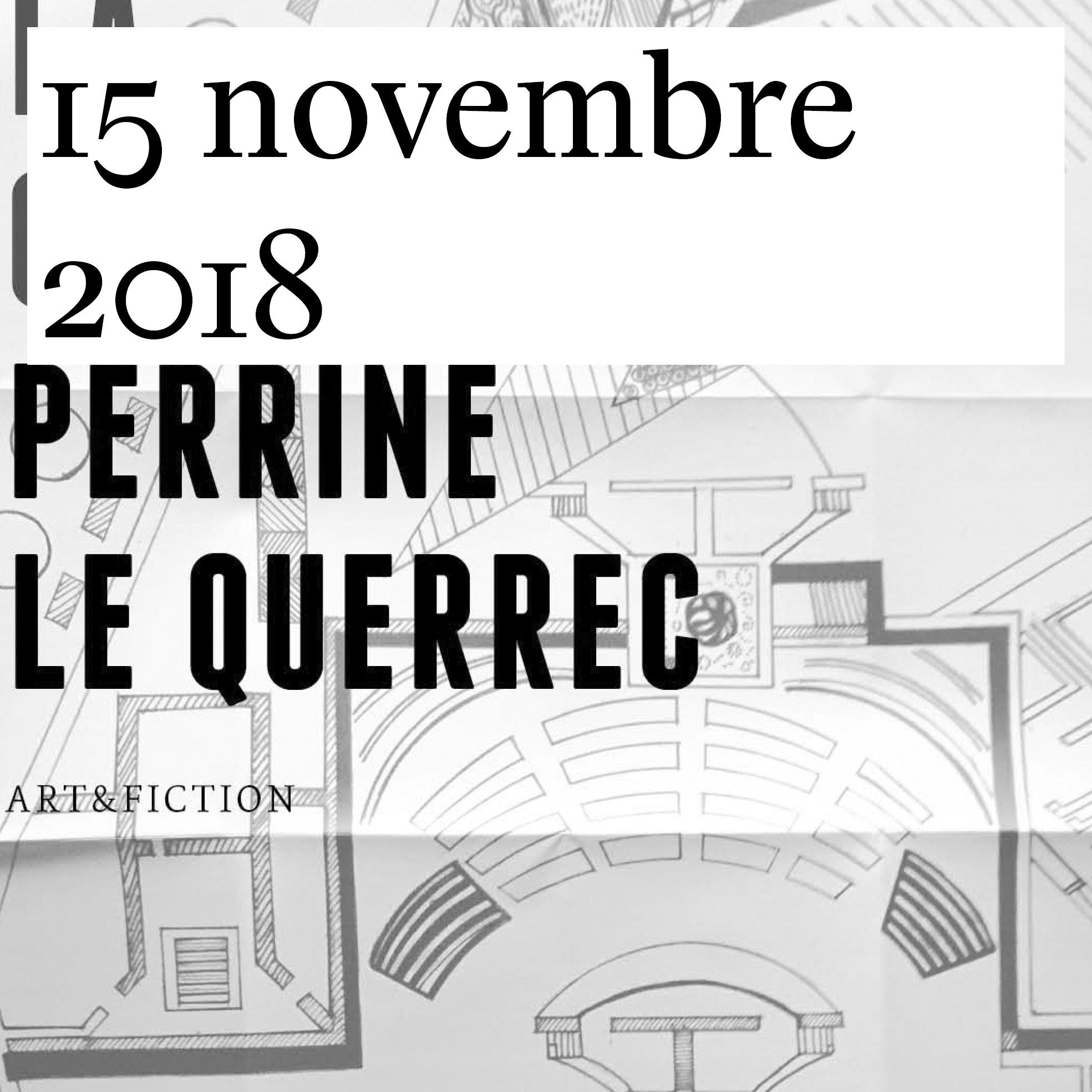 Vernissage de «La Construction» de Perrine Le Querrec