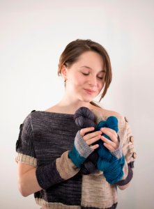 CAMARI - Butterfly shrug (Free pattern) - Artfil Yarn - Eco