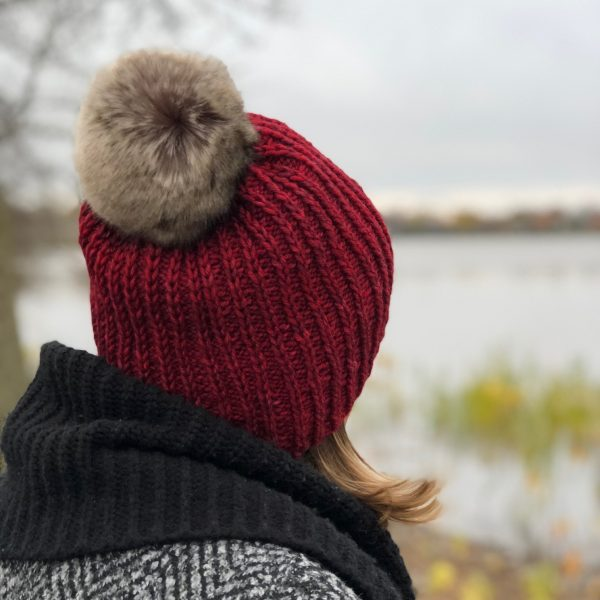 Artfil ARAN pattern - December hat