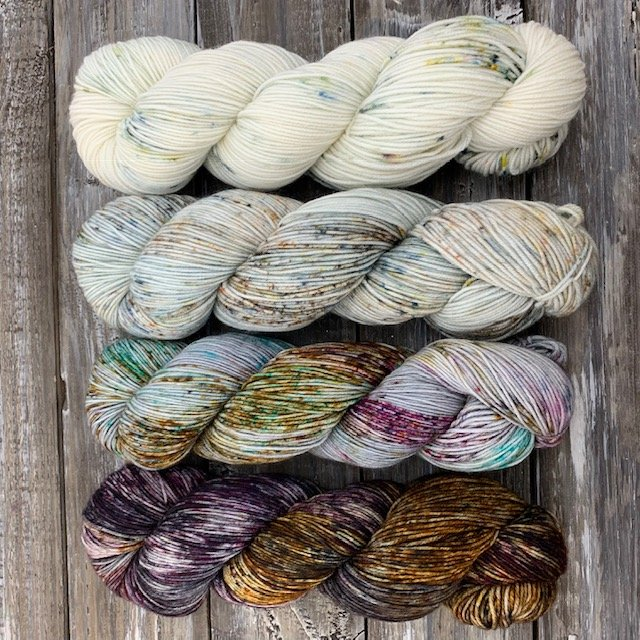 Gratitude – Yarn Kit – For Spector Sweater Or Any Fade Sweater