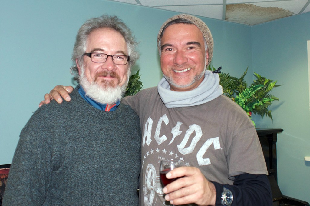 Glenn and Warren Maxwell