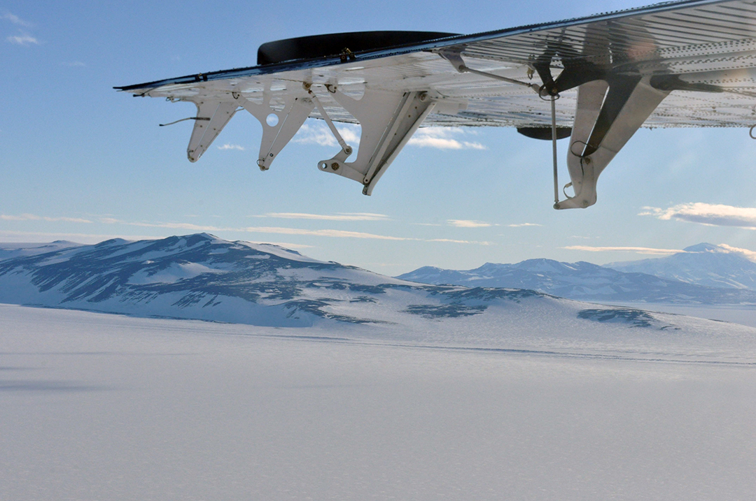View from the Twin Otter