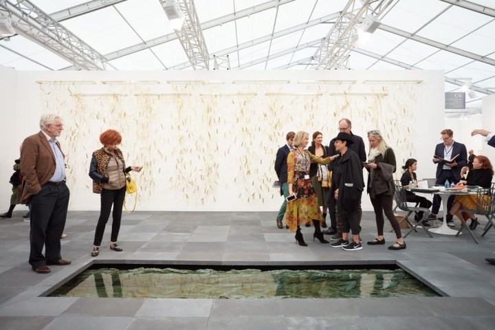 Installation view of Marian Goodman Gallery's booth at Frieze London, 2017. Photo by Tom Carter for Artsy..jpg