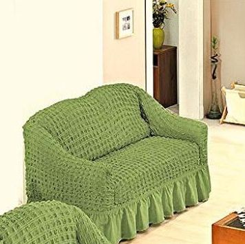 husa canapea verde