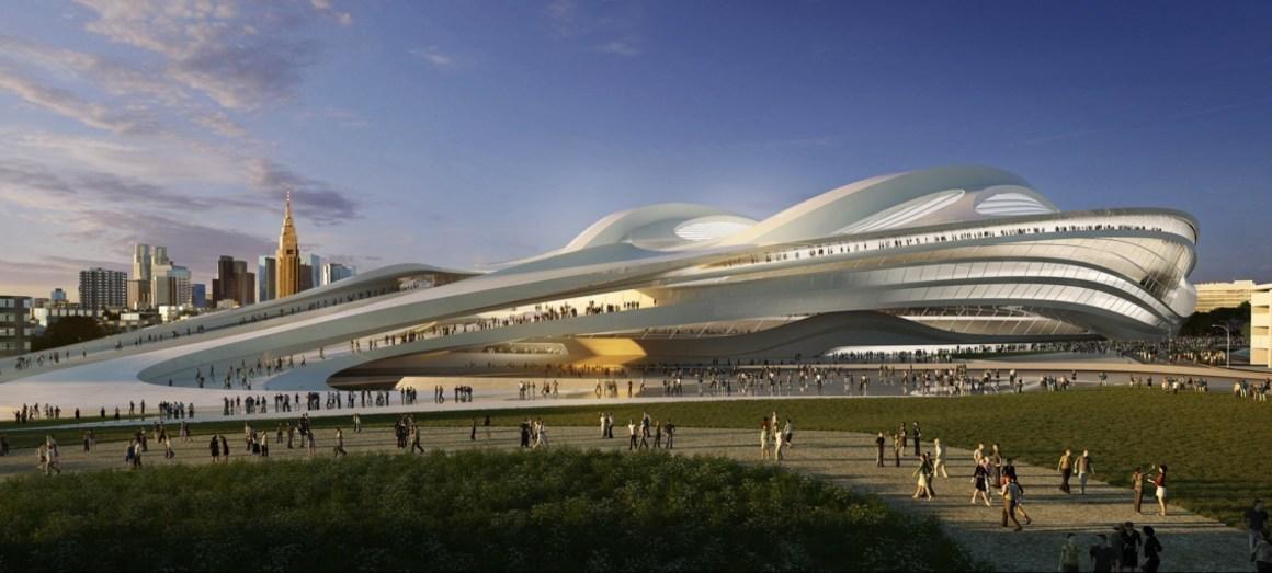 Stadion Nasional Jepang Di Desain Oleh Arsitek Inggris