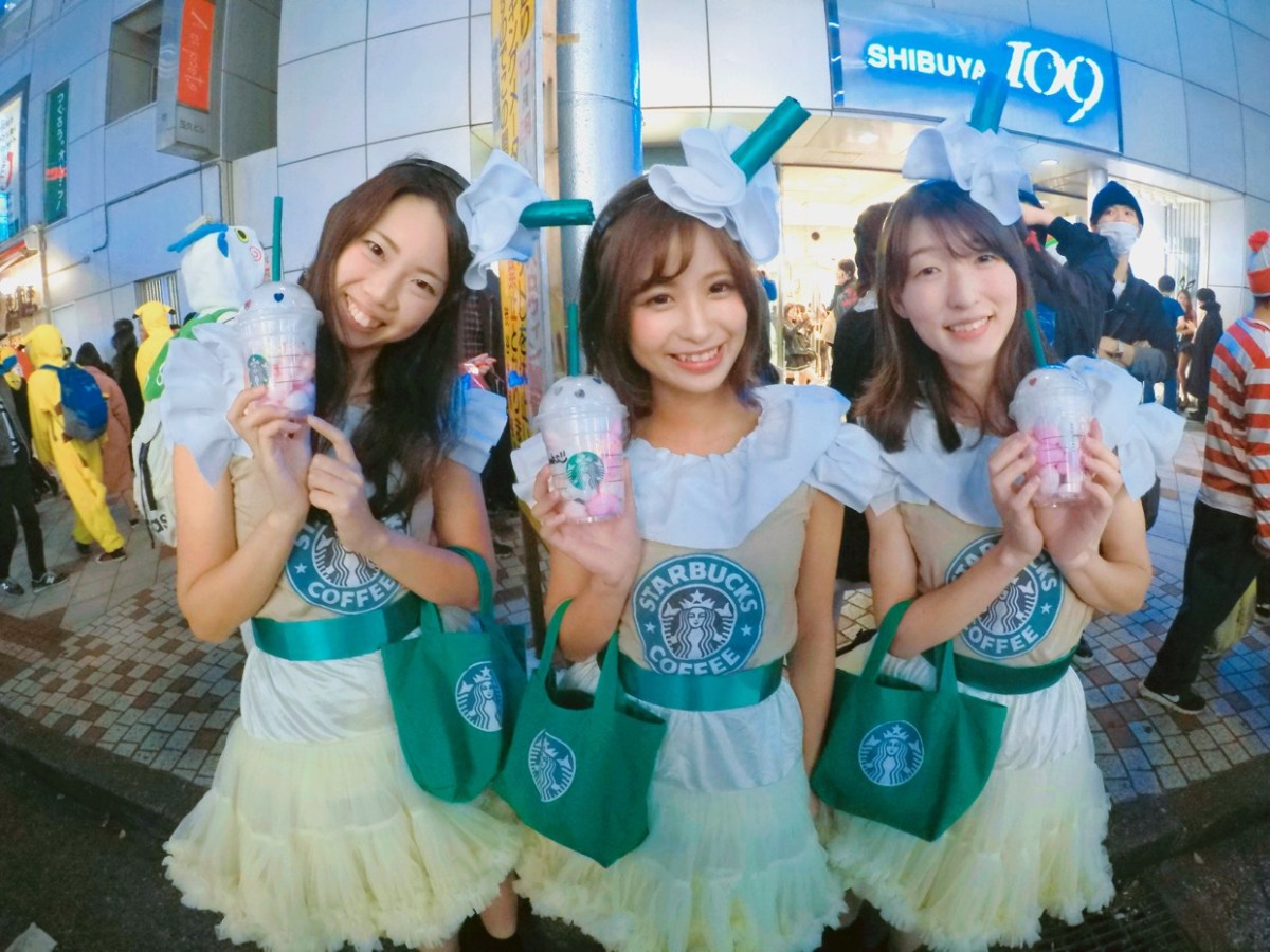 Festival Halloween Jepang Dipenuhi Busana Fashion Yang Menarik