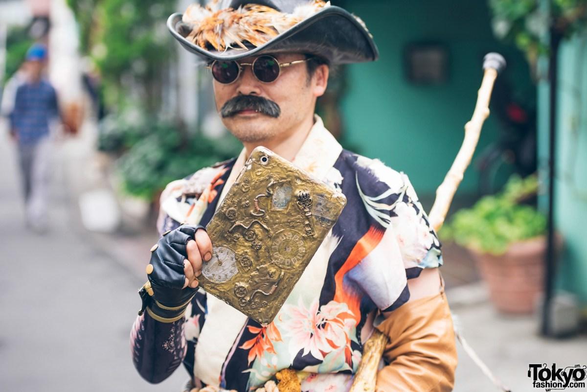 Tampil Berbeda Dengan Busana Fashion Kimono Steampunk
