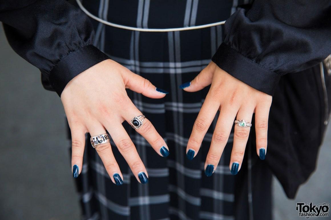 Rapih Dan Juga Misterius Dengan Fashion Harajuku Black Casual