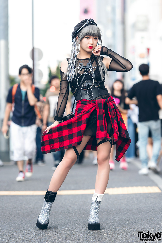 Original Harajuku Fashion Street Monster Girl