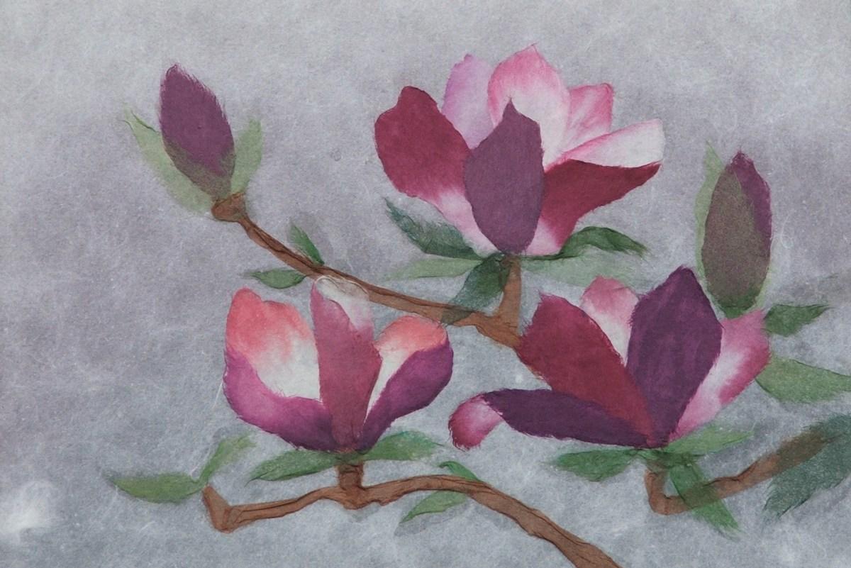 Mengenal Kerajinan Chigiri E Yang Menggunakan Kertas Warna Untuk Melukis