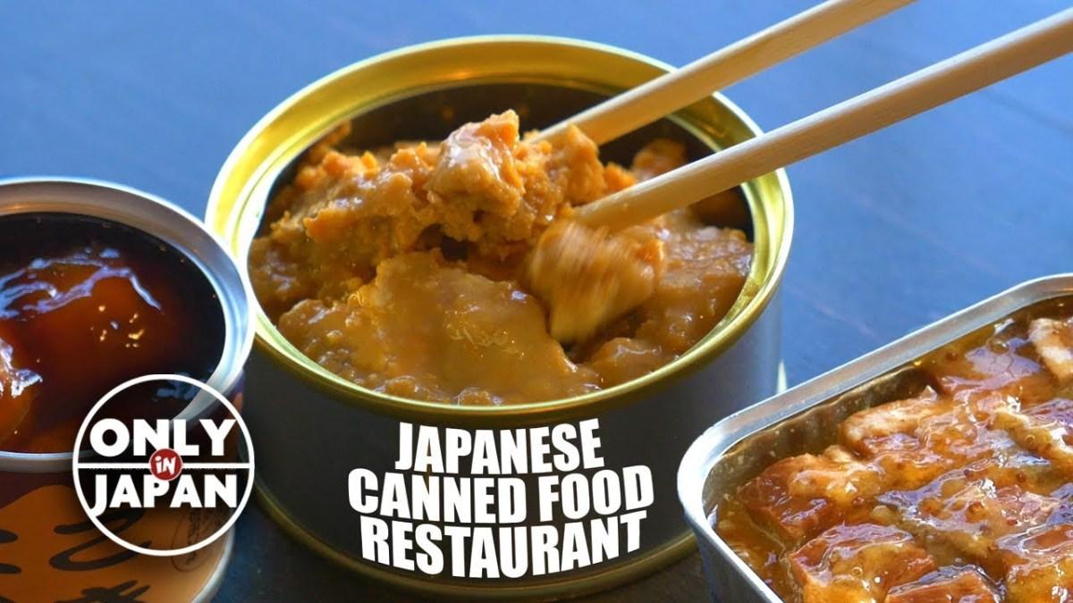 Kunjungi Restoran Kaleng Mr Kanso Di Osaka