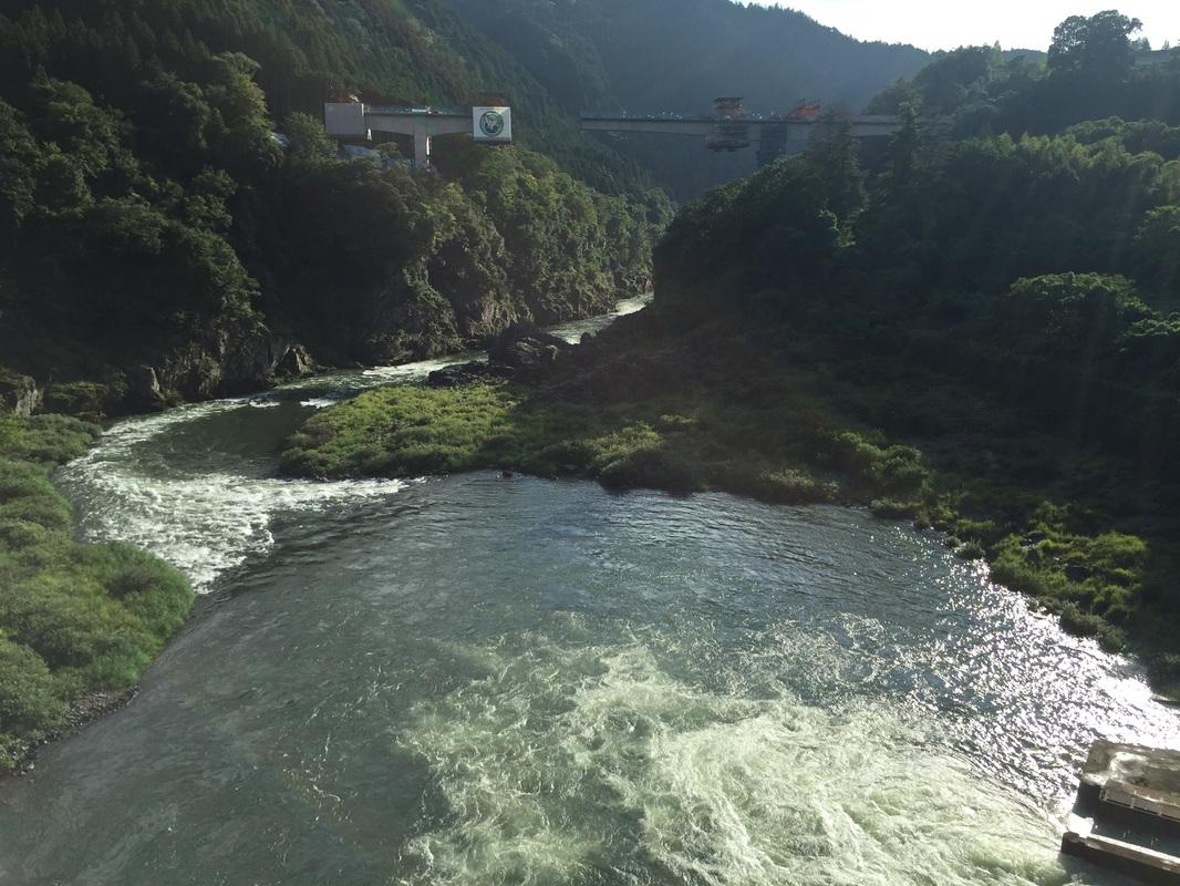 Bendungan Angker Maruyama Prefektur Gifu
