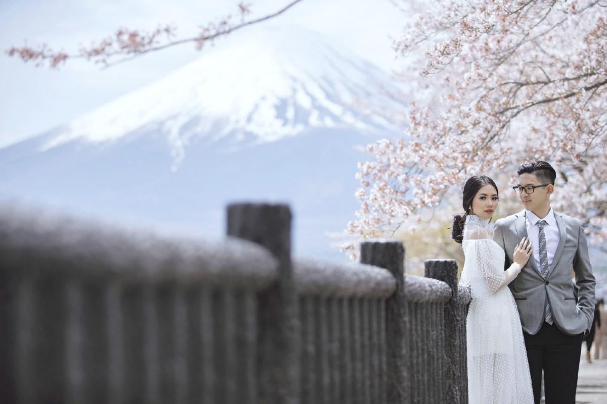 Jepang Menjadi Salah Satu Tempat Favorit Untuk Foto Pernikahan