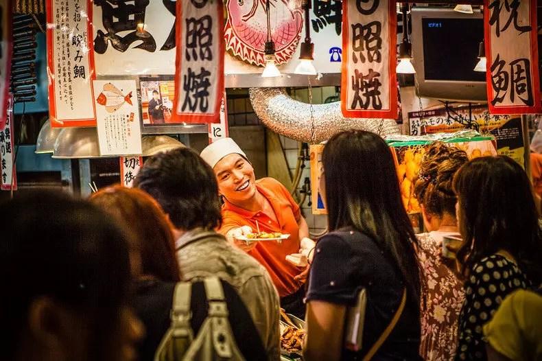 Nikmati Serunya Interaksi Pasar Lokal Nishiki Di Kyoto