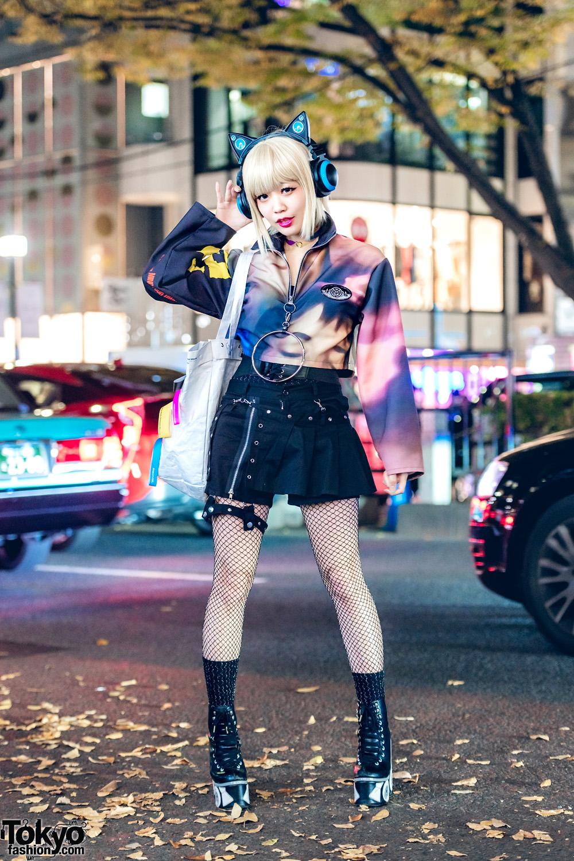 Tampilan Eksentrik Harajuku Fashion Dari Penyanyi Asachill
