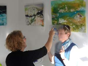 Ateliertage am 1. und 2.11.2014 in Flensburg, Holm 35