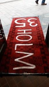 Der rote Teppich zu uns