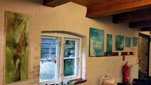 """Bergmühlen-Lesung 2016 """"blaue Wand"""""""