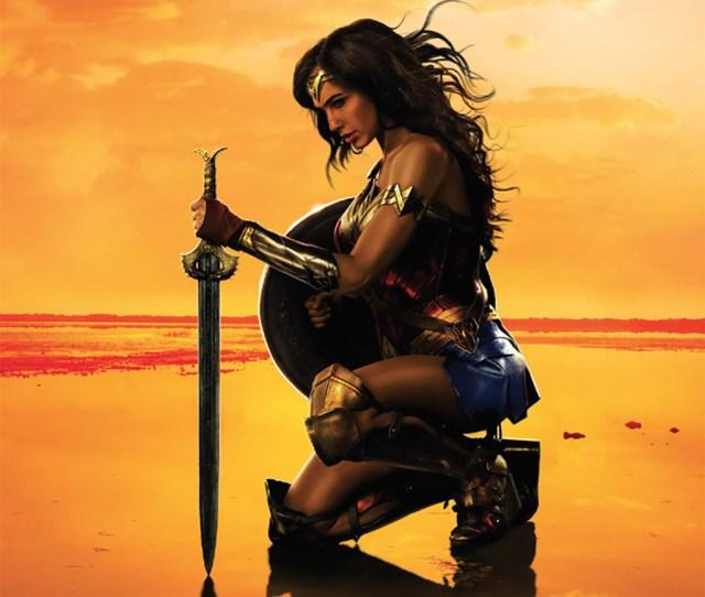 Promotional Image For Patty Jenkinss Wonder Woman 2017 Wonder Woman Gal Godot