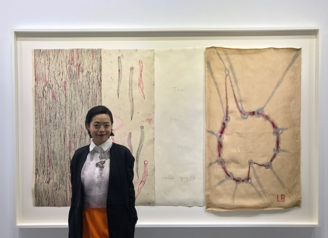 Hauser & Wirth Hong Kong senior director Lihsin Tsai.