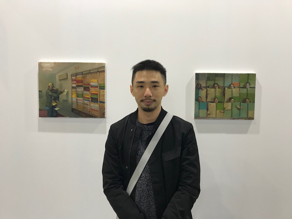 Artist Chen Ching-Yuan.