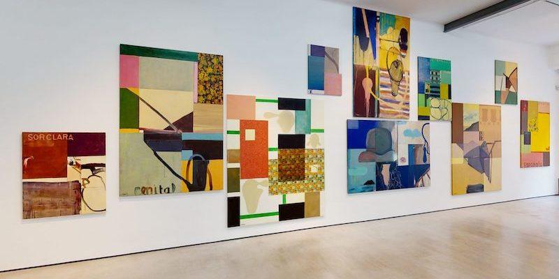 """View of """"La pintura entre extremos,"""" 2020–21."""