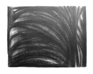Peter Wechsler, Wellen, 73 / VI 92, Kaltnadelradierung auf Zink, 59.5 x 76 cm (Plattengrösse: 49.5 x 64 cm), Signiert, datiert und betitelt