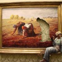 "Banksy's ""Gleaners"""