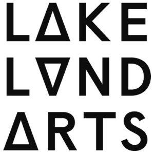 Lakeland Arts logo.