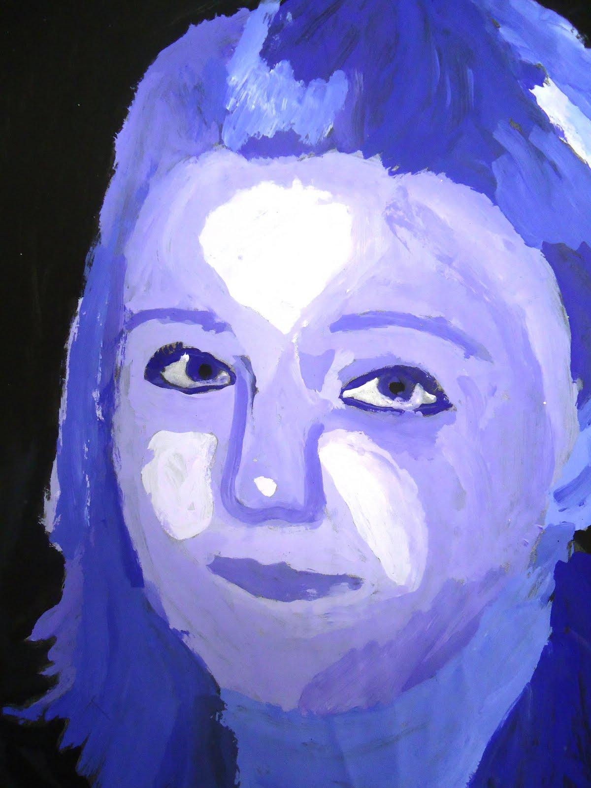 Value Shading And Self Portraits Artful Artsy Amy