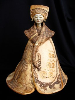 """Serenity"" Female Buddhas - Available in several sizes: larger, approx. 24""H x 17""W x 13""D medium, approx. 19""H x 15""W x 13""D smaller, approx. 19""H x 13""W x 11""D"