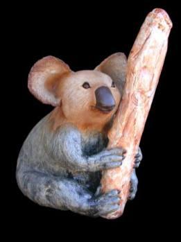 "Koala Bear - approx. 21""H x 14""W x 14""D"