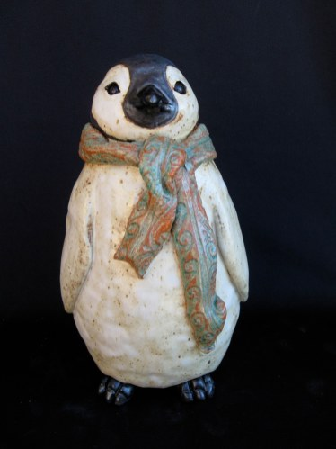 """Baby Penguin Table-sized - approx. 10""""H x 6""""W x 6""""D"""