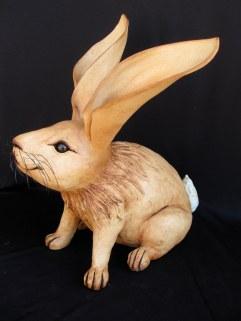 "Large Sitting Rabbit - approx. 20""-24""H"