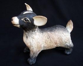 "Baby Goat - approx. 9""H x 6""W x 10.5""L"