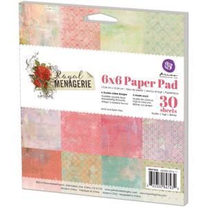 Royal Menagerie 6x6 paper pad