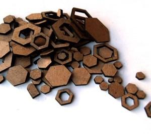 hexagon-confetti