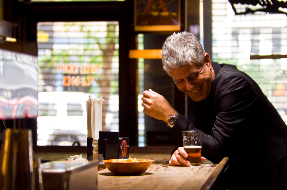 An Exclusive Q+A with Rock Star Chef Anthony Bourdain