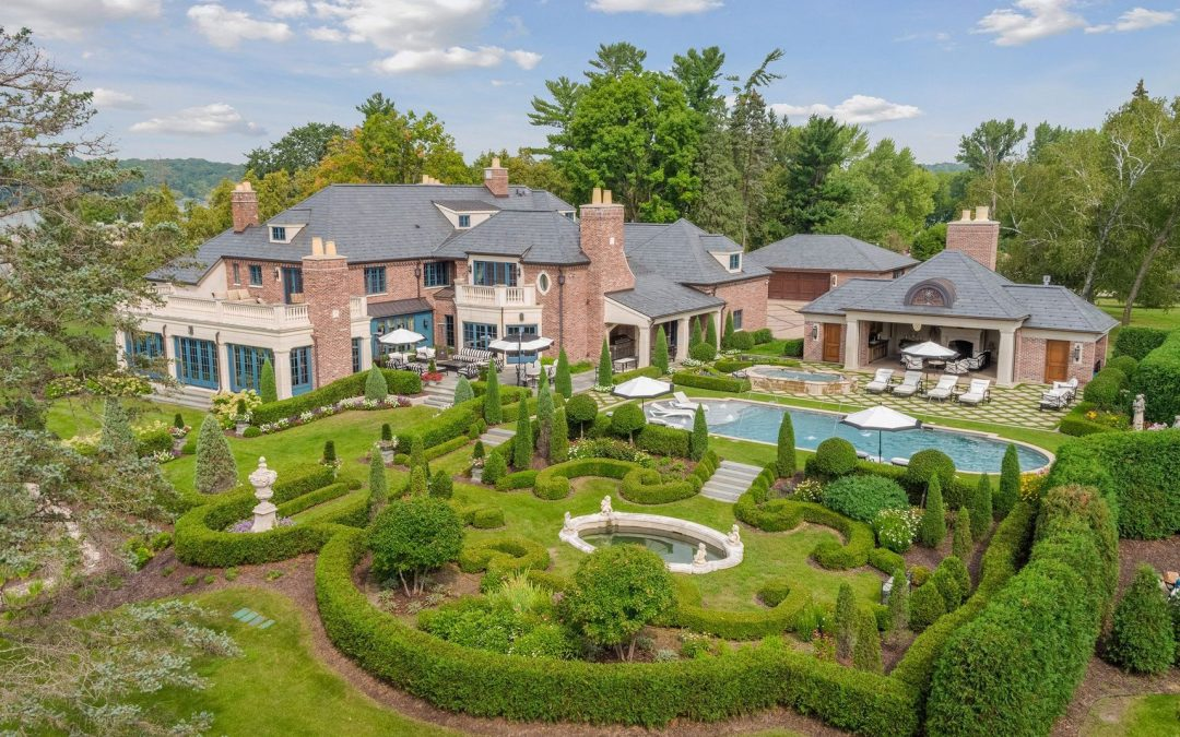 Inside Lake Minnetonka's Fullerton Estate, Now For Sale
