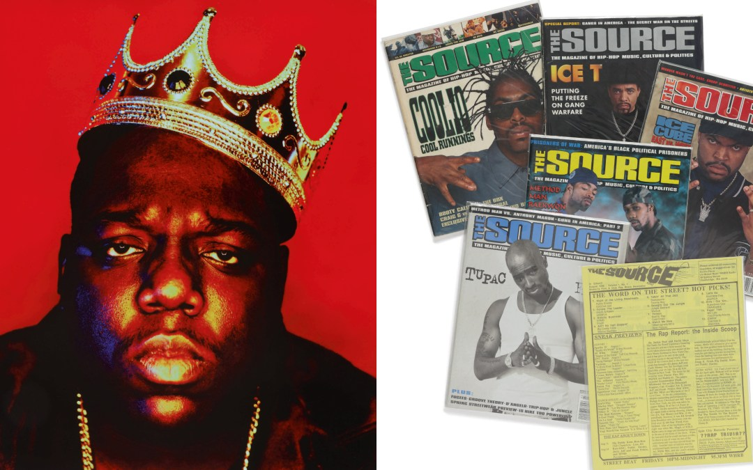 Sotheby's Auctions Off Hip-Hop Art and Artifacts