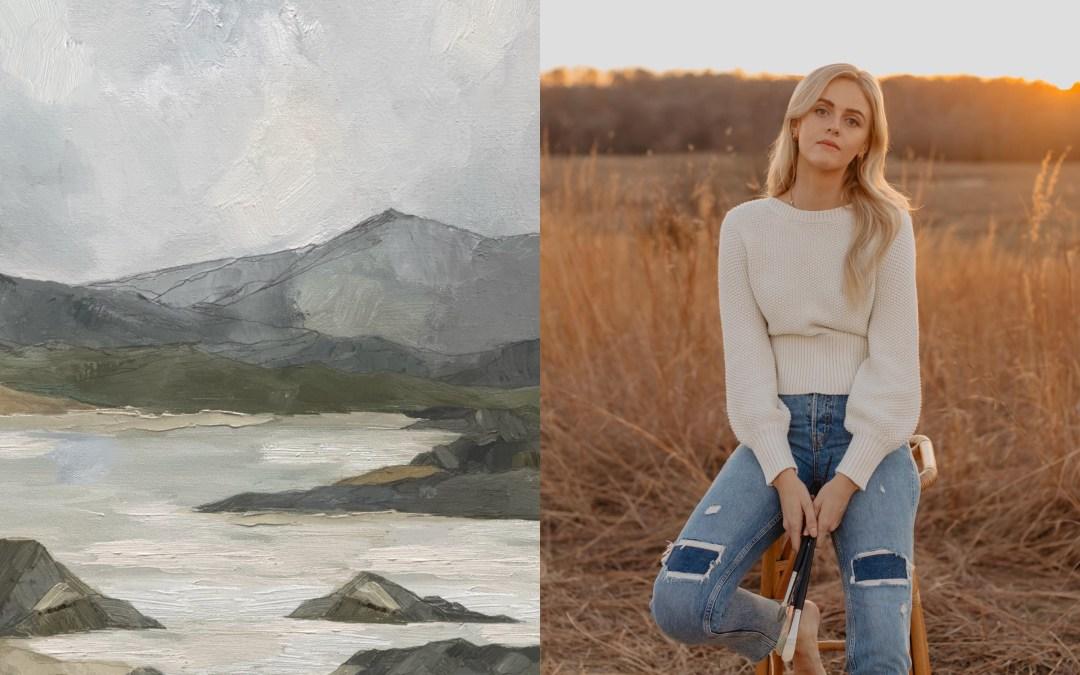 """Artful Giving: Behind Artist Abbey Holden's """"Wilderness"""" Artwork"""